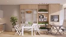 Cho thuê Officetel - Retail dự án Golden King tại trung tâm Phú Mỹ Hưng, quận 7, giá chỉ 22 - 26 USD/m2/tháng view sông