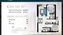 Cần bán căn hộ I Tower Quy Nhơn, DT 58m2, 2PN