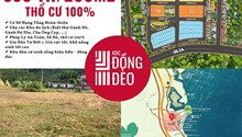 Bán đất nền KDC Đồng Đèo. DT 200m2 – Giá chỉ 580 tr. Sổ ngay