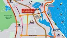 Bán nhanh 140m2 (10x14) đất sổ đỏ hạ tầng chuẩn đô thị view Đầm Thủy Triều