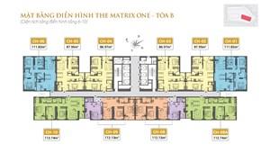 Nhận đặt chỗ ngay độc quyền (tầng 11-30) dự án The Matrix One các căn hộ đẹp nhất