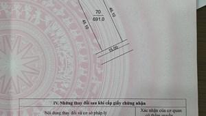 Bán gấp lô đất nền 700 sổ đỏ chính chủ tại Xã Kim Chung- Đông Anh