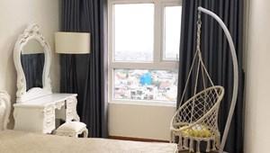 Cho thuê phòng ngủ Diamond Riverside block a, đầy đủ nội thất