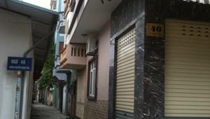 Bán đất ngõ 46 Nguyễn Hoàng Tôn, 65m2 Qui hoạch ổn định