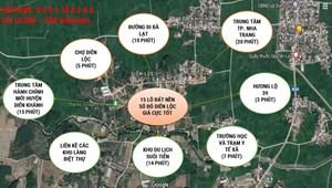 Bán 100m2 đất sổ đỏ gần TP. Nha Trang giá đầu tư 450 triệu