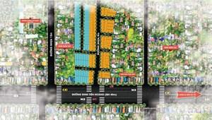 Đất đường Đinh Tiên Hoàng cần bán 100m2, gần biển Bãi Dài, sổ đỏ chính chủ