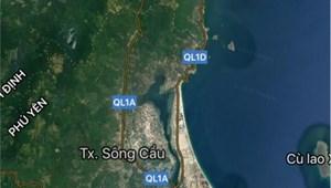 Bán 161m2 (ngang 7m) đất sổ đỏ đối diện bãi biển Từ Nham, TX Sông Cầu, Phú Yên