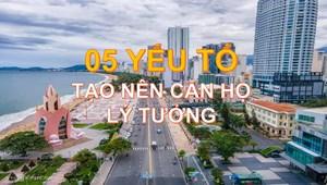 Dự án AnCruising Nha Trang hội tụ 5 đặc điểm của căn hộ cao cấp lý tưởng !