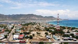 Đất nền sổ đỏ khu công nghiệp - Cảng quốc tế Cà Ná - Ninh Thuận
