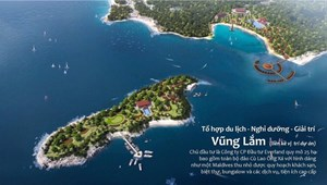 Bán 100m2 (5x20) đất biển ngay Resorts 5* Vũng Lắm, Vịnh Xuân Đài
