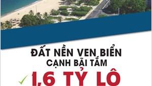 Đất nền dự án khu đô thị ven biển Tuy Hòa, đấu giá từ nhà nước