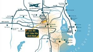 Đô thị Cẩm Văn An Nhơn sở hữu vị trí trung tâm đắc địa