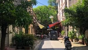 Cần tiền bán Gấp nhà Phố Nguyễn Văn Huyên, Cầu Giấy khu PL, ô tô tránh, giá chỉ 5,2 tỷ