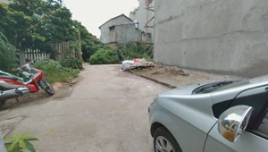 Chính chủ cần tiền nên bán nhanh lô đất 35,5m2 TDP Chính Trung, Trâu Qùy, Gia Lâm