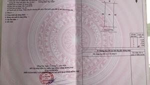 Bán đất phường Hố Nai Biên Hòa DT 62m2 giá 1 tỷ 6
