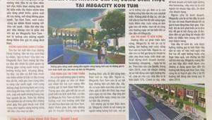 Nhận đặt chỗ Megacity Kontum, đất quy hoach Nhà nước, chỉ 425tr/170m2