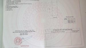 Đất nền sổ đỏ trung tâm thị trấn Khánh Vĩnh giá đầu tư 570 triệu/nền