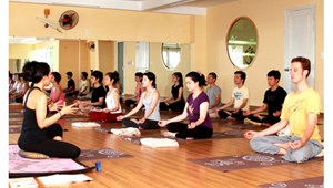 Sang nhượng Yoga Studio trung tâm Cầu Giấy, 180m2