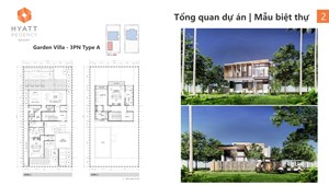 Bán biệt thự biển Hyatt Regency Hồ Tràm chỉ 63 căn full nội thất 5*cạnh Melia