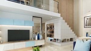 Dòng căn hộ cao cấp trần cao 5.4M tiện ích đẳng cấp tại trung tâm Quận 2